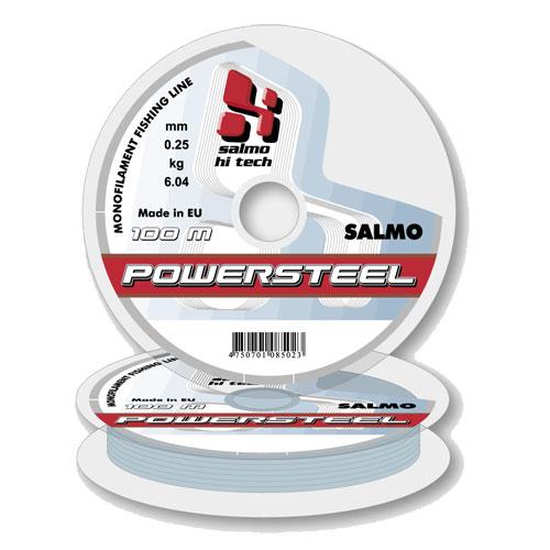Леска монофильная Salmo Hi-Tech POWERSTEEL 100/020