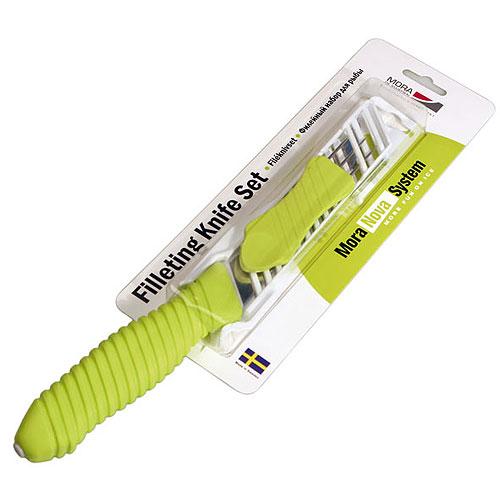 Нож филейный с вилкой MORA NOVA FILLETING KNIFE KIT набор