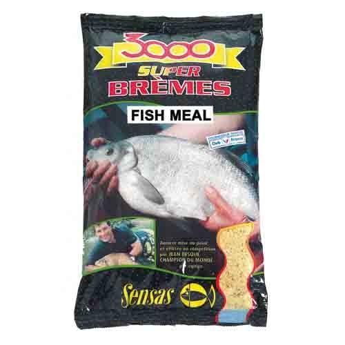 Прикормка Sensas 3000 Super BREMES Fishmeal 1кг