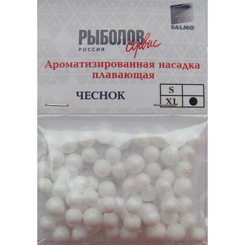 Насадки искусственные XL ЧЕСНОК белый цвет