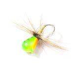 Мормышка вольф. Lucky John НИМФА-Муха с петел. 040/40