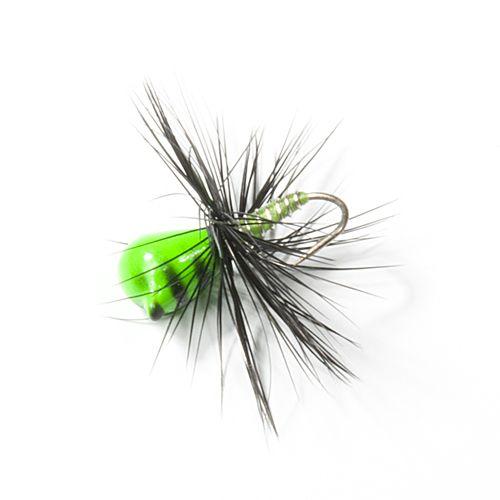 Мормышка вольф. Lucky John НИМФА-Муха с петел. 040/39