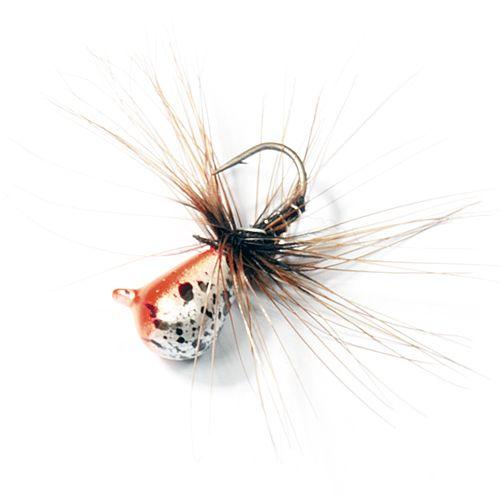 Мормышка вольф. Lucky John НИМФА-Муха с петел. 040/38