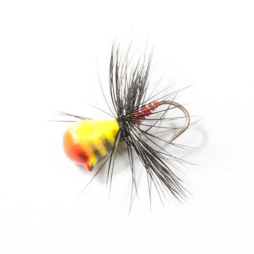 Мормышка вольф. Lucky John НИМФА-Муха с петел. 040/37