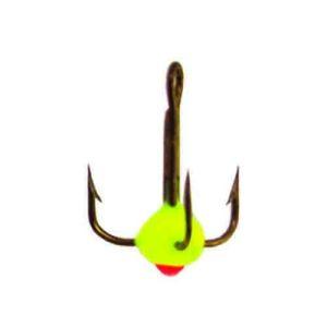 Крючок-тройник для приманок Lucky John с каплей цвет. разм.014/Y