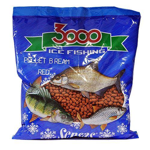 Пеллетс зимний Sensas 3000 BREAM RED 0.4кг