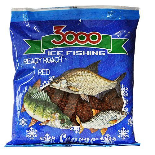 Прикормка зимний готовая Sensas 3000 ROACH RED 0.5кг