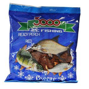 Прикормка зимний готовая Sensas 3000 PERCH RED 0.5кг