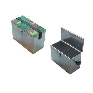 Ящик рыболовный нержавеющая сталь 40х19х29см