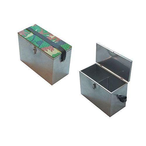 Ящик рыболовный оцинкованый сталь 30х19х29см