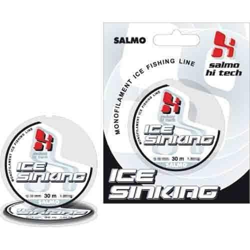 Леска монофильная зимняя Salmo HI-TECH ICE SINKING 030/0.20