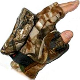Перчатки-варежки Kosadaka Fire Wind (флис) камуфл., р-р M