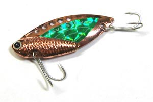 Блесна Kosadaka Wave Striker Cicada Copper/Green 21 гр.
