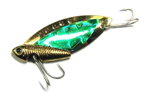 Блесна Kosadaka Wave Striker Cicada Gold/Green 10 гр.