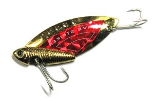 Блесна Kosadaka Wave Striker Cicada Gold/Red 7 гр.