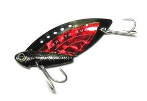 Блесна Kosadaka Wave Striker Cicada Black/Red 10 гр.