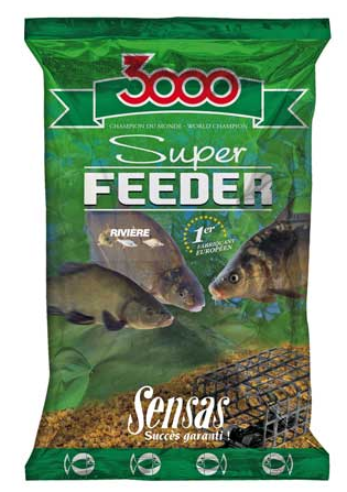 Прикормка Sensas 3000 Super FEEDER River 1кг
