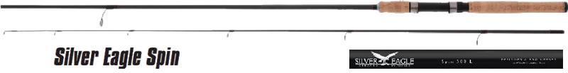 Спиннинг штекерный Mikado SILVER EAGLE L Spin 300 IM9