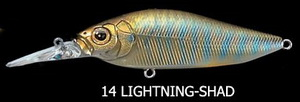 Воблер Megabass Diving Flap Slap F (lightning shad)