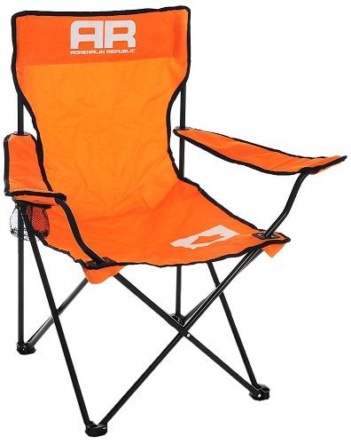 Складной стул Adrenalin Republic Mac Tag Jr. Orange (подлокотники, держатель стакана)