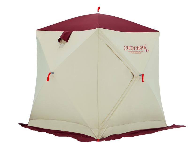 Палатка трёхслойная Снегирь 1у
