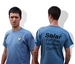 SOLAR  Футболка T SHIRT TOP BANANA  BLUE  L TSTL