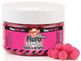 Бойлы плавающие Dynamite Baits Squid & Octopus Fluoro 15 мм