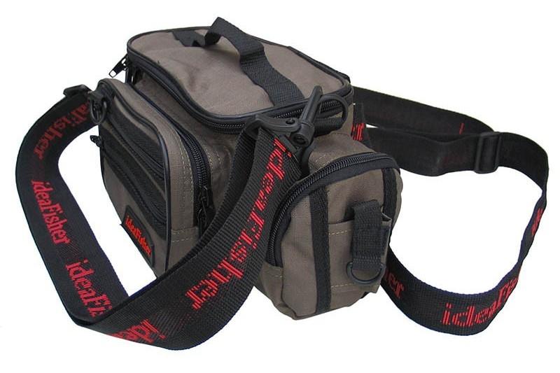 Stakan-100 Лайтовик ОЛИВА Шейно-поясная сумка с держателем удилища