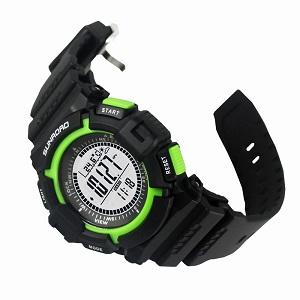 Наручные часы с барометром Sunroad FR711A (зелёный)