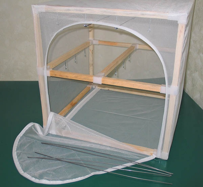 Сушилка для рыбы ЭКО-2 двухярусная (500х500х500 мм)