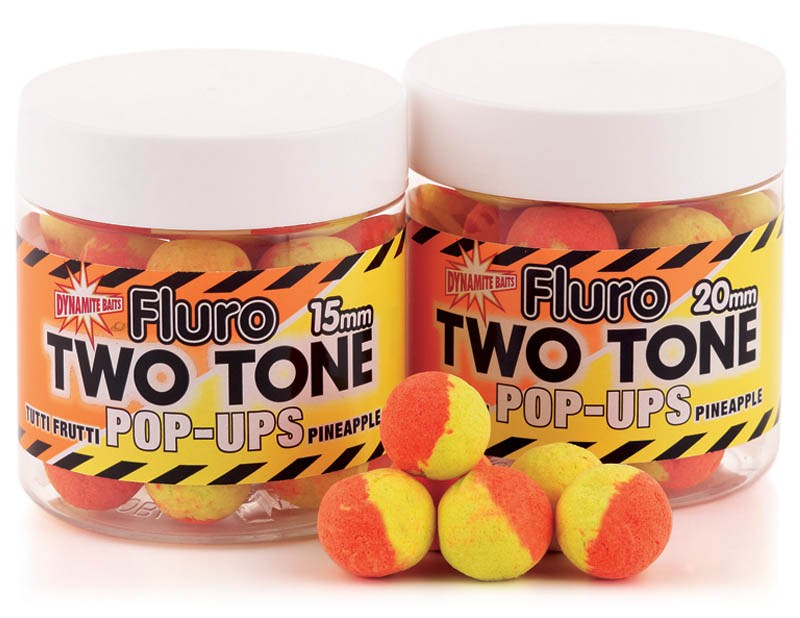 Бойлы плавающие Dynamite Baits Tutti Frutti & Pineapple Two Tone 15 мм