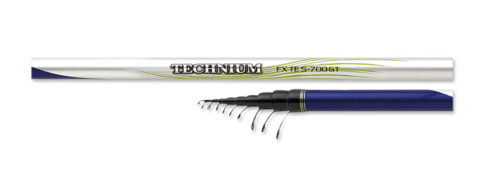Телескопическое удилище Shimano TECHNIUM FX TE GT 5-500