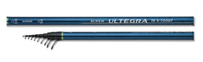Телескопическое удилище Shimano SUPER ULTEGRA TE GT 4-800