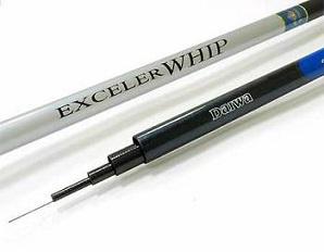 Удилище телескопическое без колец DAIWA Exceler Whip / EX W70 (7м)