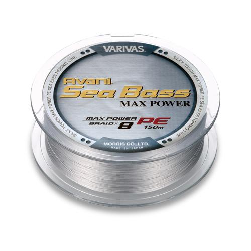 Плетеный шнур Varivas Avani Sea Bass Max Power (PE8) -  #1.5 - 150 m