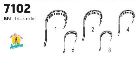 Крючки VMC 7102 BN (10шт) № 1