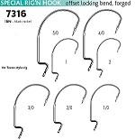 Крючки VMC 7316 BN (10шт) № 1