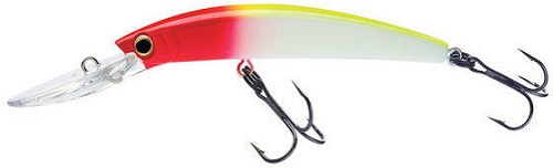 Воблер Yo-Zuri CRYSTAL MINNOW DEEP DIVER WALLEYE плав, 90 мм, 9.5 г R1205-CR