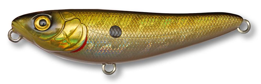 Воблер Kosadaka BONGA W77 поверхн. 77мм, 8.6г., цв.GTR