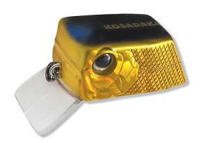 Воблер Kosadaka CUBIX плав., 35мм, 6.4г., 0.0-0.3м, цв.HGBL