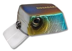 Воблер Kosadaka CUBIX плав., 35мм, 6.4г., 0.0-0.3м, цв.SH