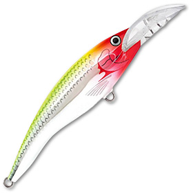 Воблер Rapala Scatter Rap Tail Dancer  CLN плавающий 3,3-5,7м, 9см, 13гр