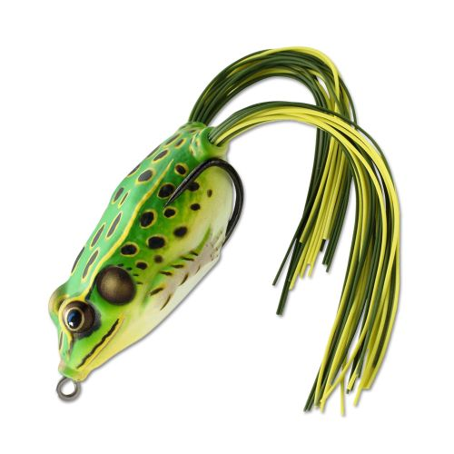 Воблер LiveTarget Frog Hollow Body 45F вес 7  гр. цвет  512 Floro Green/Yellow