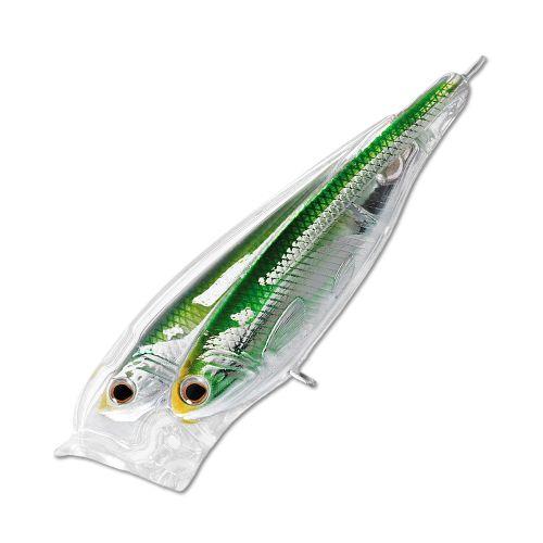 Воблер LiveTarget Glass Minnow Baitball Popper 65F вес 7  гр. цвет  952 Silver/Green