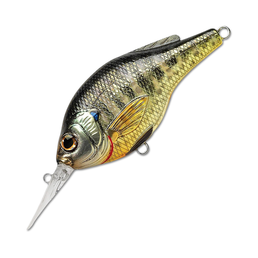 Воблер LiveTarget Sunfish Flat Side Crankbait BG57M вес 7  гр. цвет  BG 102 Metallic/Gloss