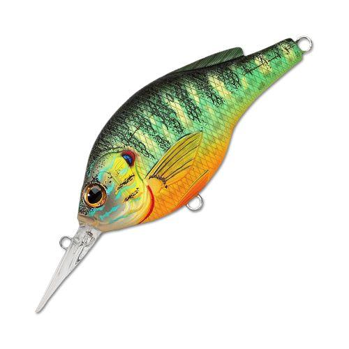 Воблер LiveTarget Sunfish Flat Side Crankbait PS57M вес 7  гр. цвет  PS 100 Natural/Matte