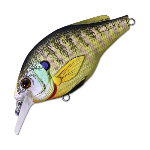 Воблер LiveTarget Sunfish Flat Side Squarebill BGS60 вес 7  гр. цвет  BG 100 Natural/Matte