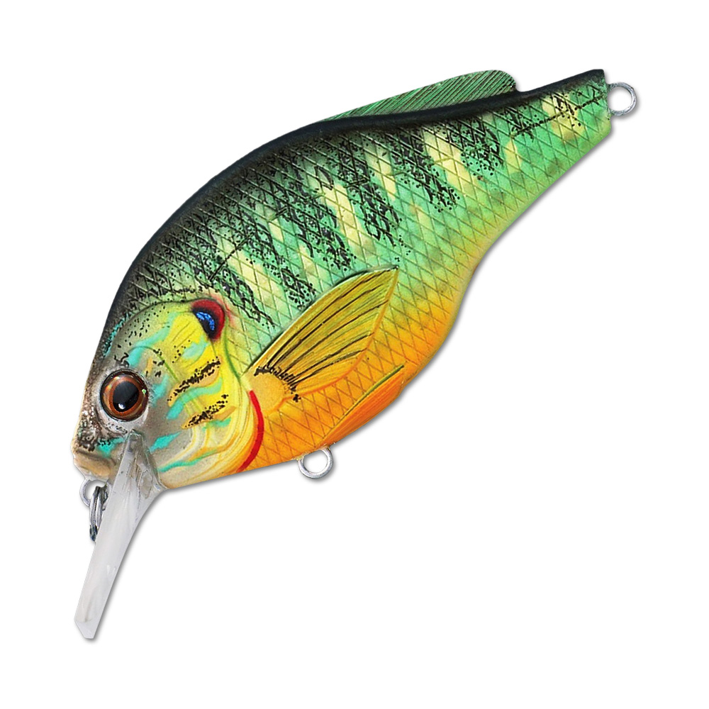 Воблер LiveTarget Sunfish Flat Side Squarebill PSS60 вес 7  гр. цвет  PS 100 Natural/Matte