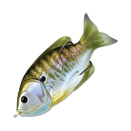 Воблер LiveTarget Sunfish Hollow Body 75F вес 12  гр. цвет  550 Natural/Olive Bluegill