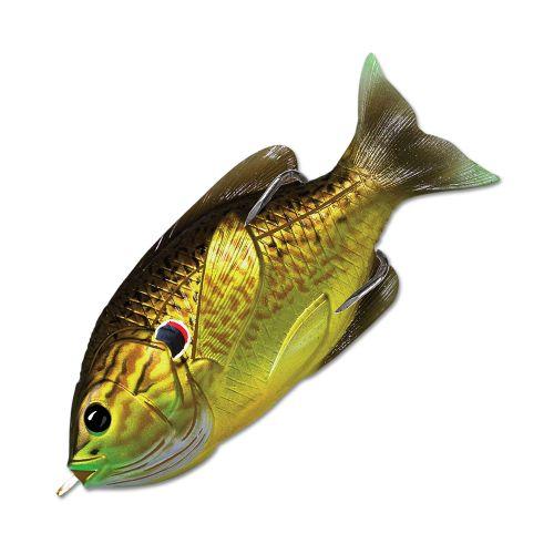 Воблер LiveTarget Sunfish Hollow Body 75F вес 12  гр. цвет  556 Bronze Pumpkinseed